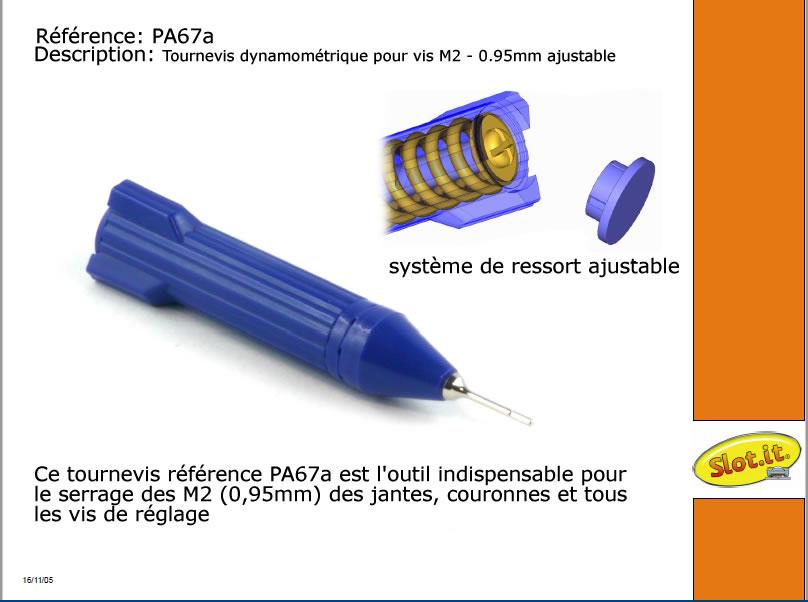 Tournevis Slot it M2 - Pa67a