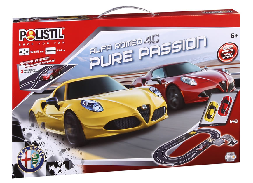 1/43 pure Passion Set 2,04 m (Oval)