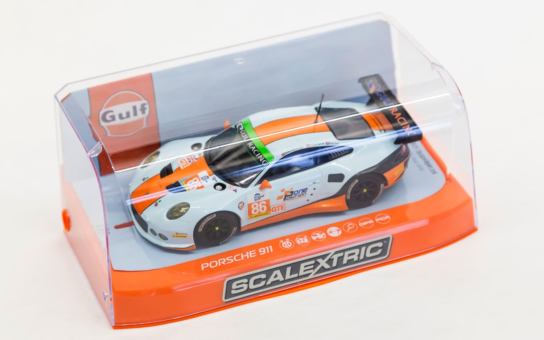 Scalextric: La Porsche 991 Gulf Racing 4h de Silverstone 2015