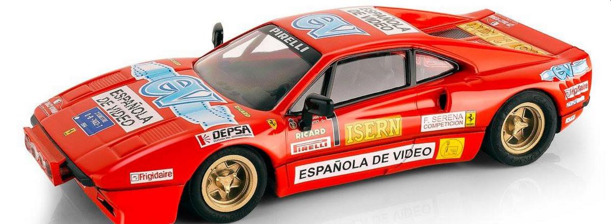 Scalextric: la Ferrari 308 GTB Antonio Zanini en édition limitée