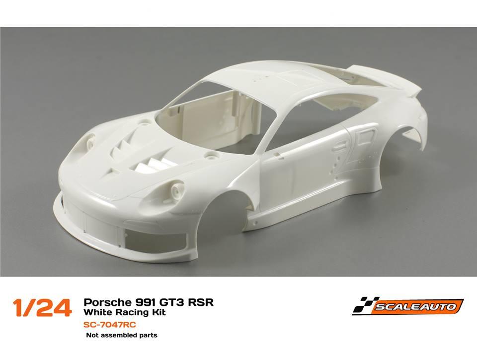 Scaleauto La Porsche 991 GT3 RSR Kit Blancg Kit 1:24 SC7047 RC