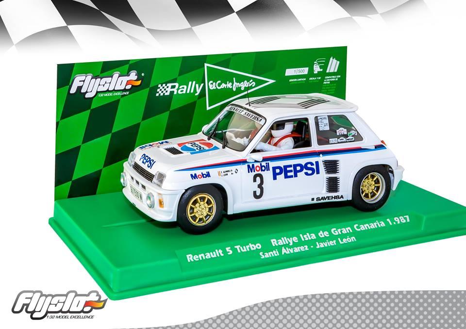 FlySlot: La Renault 5 Turbo Rallye des Iles Canaries en 1987