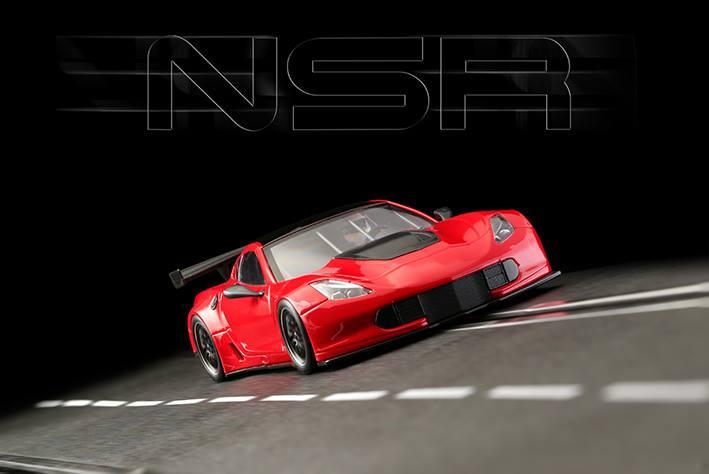 La Corvette C7R GT3 test cars red référence 0022AW