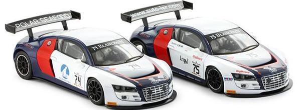 NSR: les deux Audi R8 LMS ISR Racing Blancpain arrivent