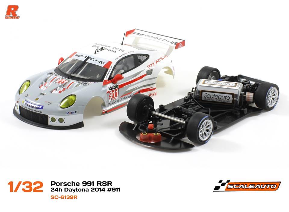 Porsche 911 GT3 RSR Chassis R-Version