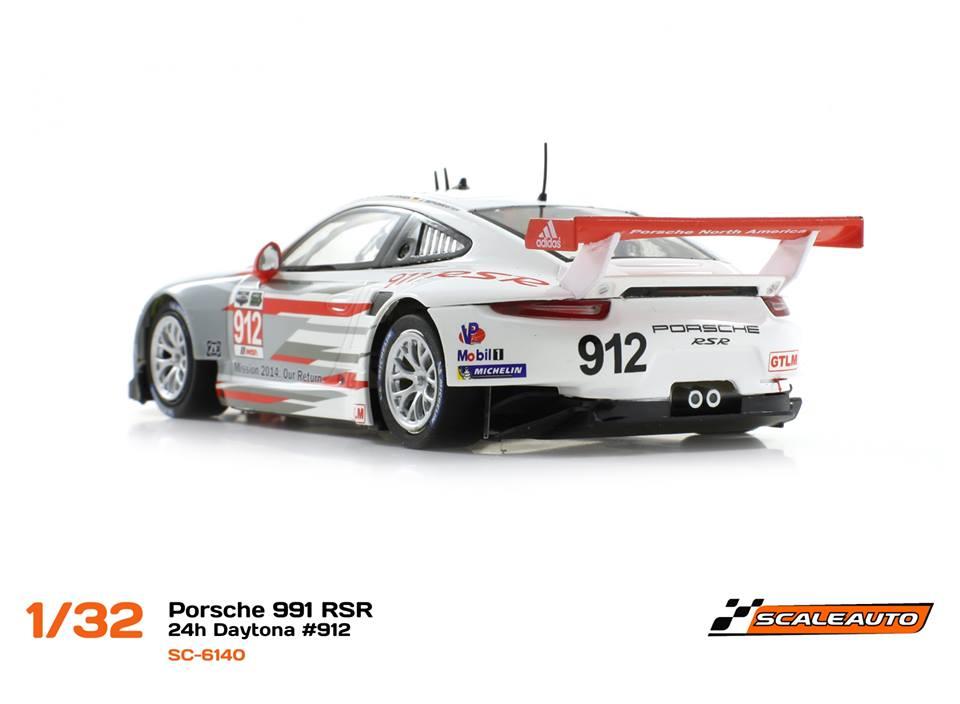 Porsche 911 GT3 RSR - Réf. SC-6140 et SC-6140 R
