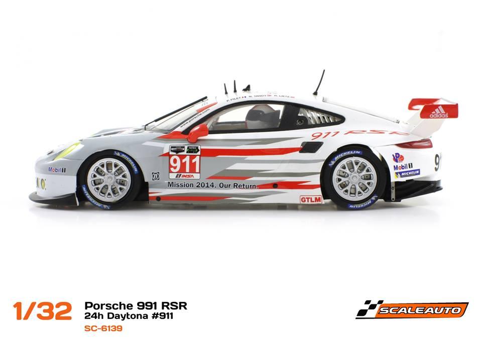 Porsche 911 GT3 RSR - Réf. SC-6139 et SC-6139 R