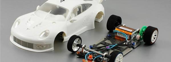Scaleauto: La Porsche 991 (911) GT3 RSR Kit Blanc Racing Kit 1:24