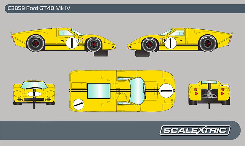 Ford GT40 MKIV 1967 Sebring Winner