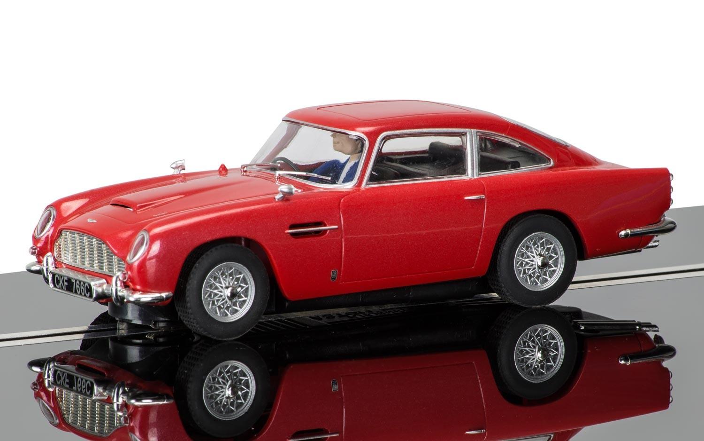 Scalextric C3722 Aston Martin DB5 Rouge