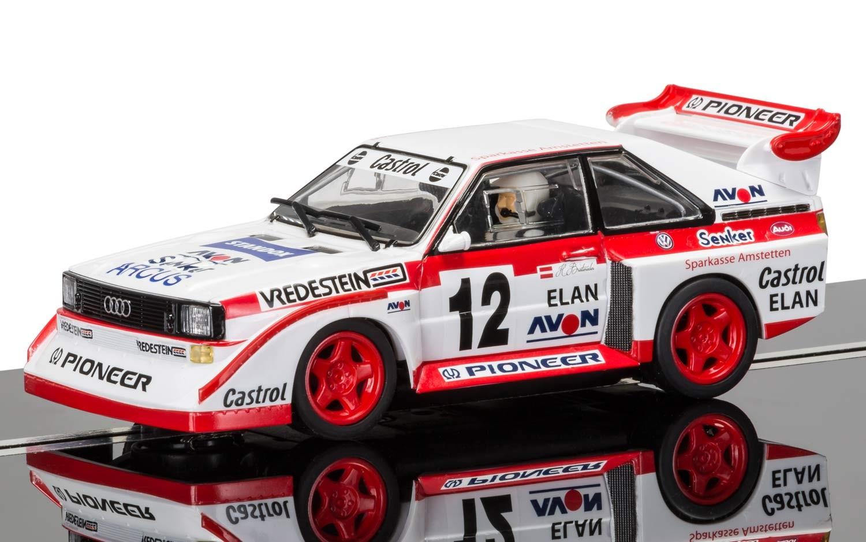 Scalextric C3750 Audi Sport Quattro E2 - Swedish Rally Cross 1990