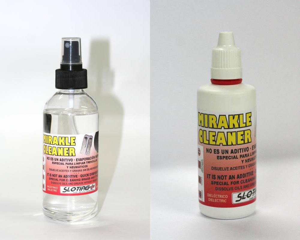 Sloting Plus: le Mirakle Cleaner un nettoyant pour les tresses et les pneus