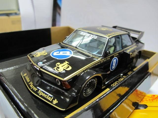 Sideways: la BMW 320i GR5 de la collection LImited Edition JPS