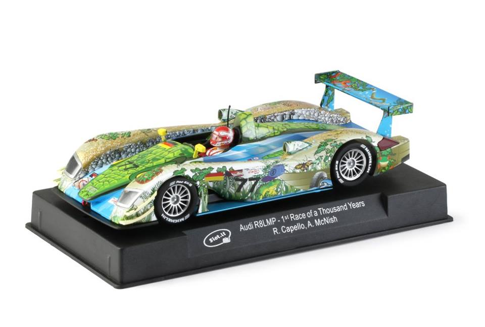 Slot.it: Audi R8 LMP Race of a Thousand Years (SiCa33a)