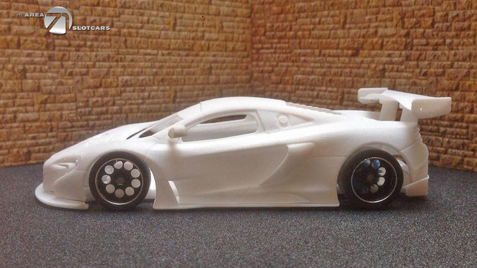 The Area71 Slotcars: Voici la McLaren 650S GT3 en impression 3D