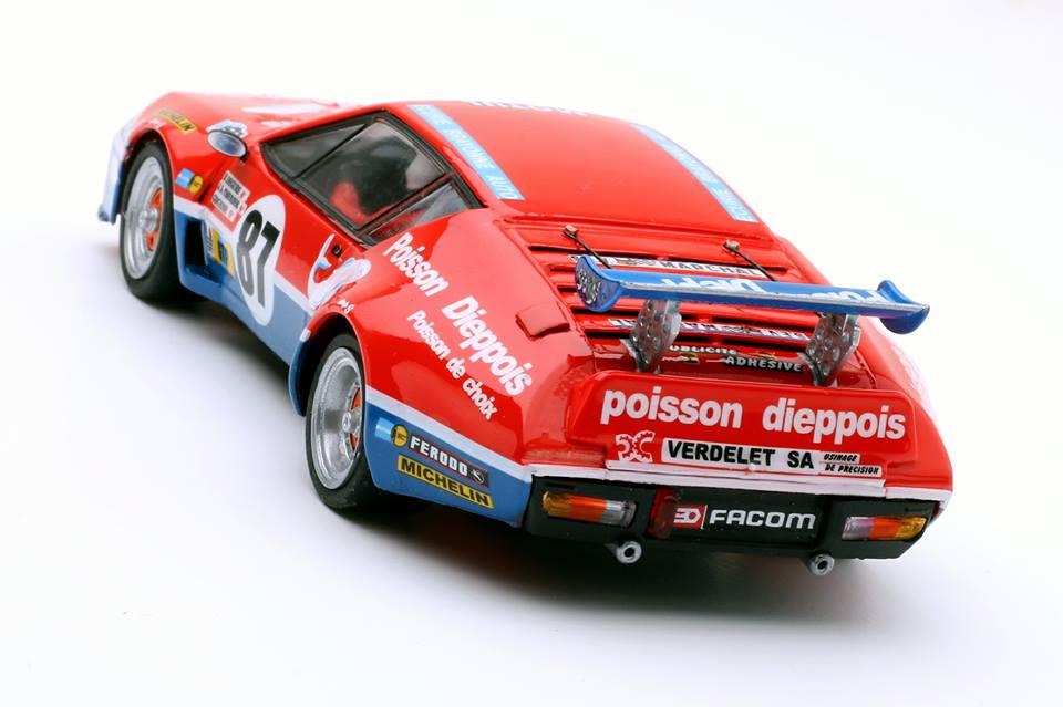 """TeamSlot: L' Alpine Renault A310 LM """"Poisson Dieppois"""""""