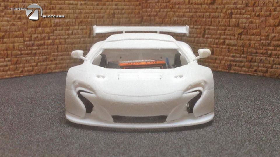 The Area71 Slotcars: Voici la McLaren 650S GT3 en impression 3D