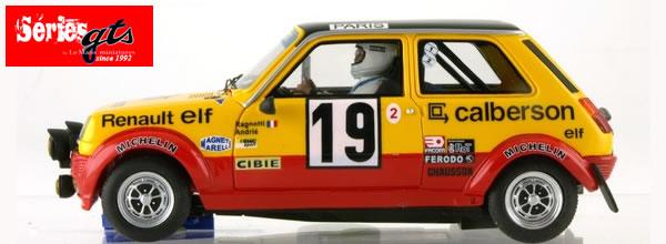 Le Mans miniatures: la Renault 5 Alpine GR2 N°19