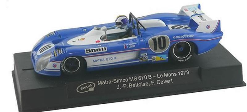MATRA SIMCA MS 670B Le Mans 1973 (Beltoise-Cevert) SiCa37a