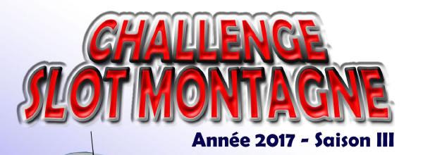 Slot Montagne: lance son Challenge 2017