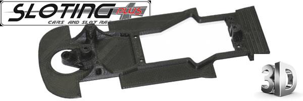 Sloting Plus: Une nouvelle série de châssis impression 3D pour voitures de slot