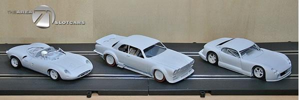 The Area71 Slotcars: Trois nouveaux kits de voitures de slot en Impression 3D