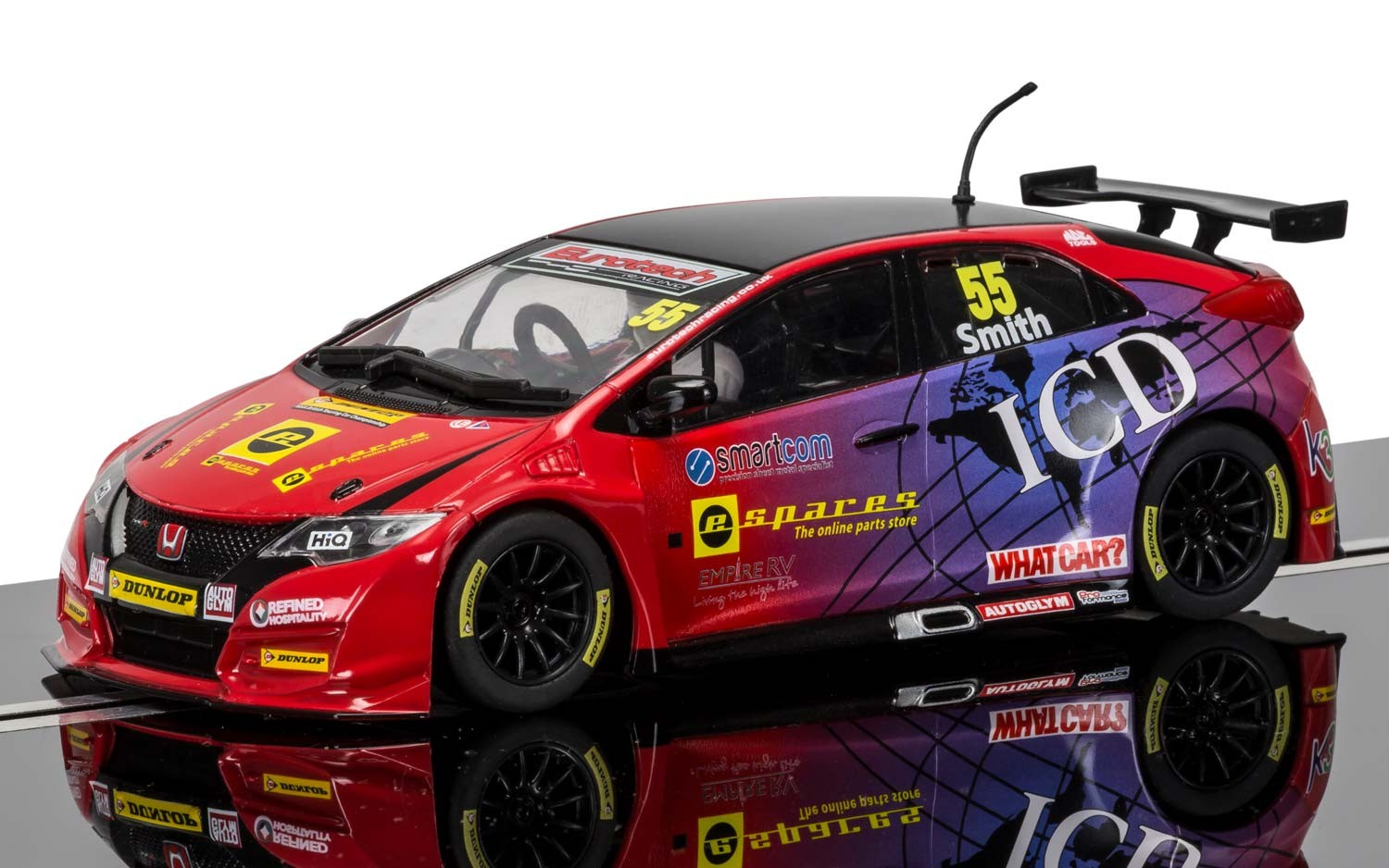 BTCC Honda Civic Type R, pilote Jeff Smith référence C3860