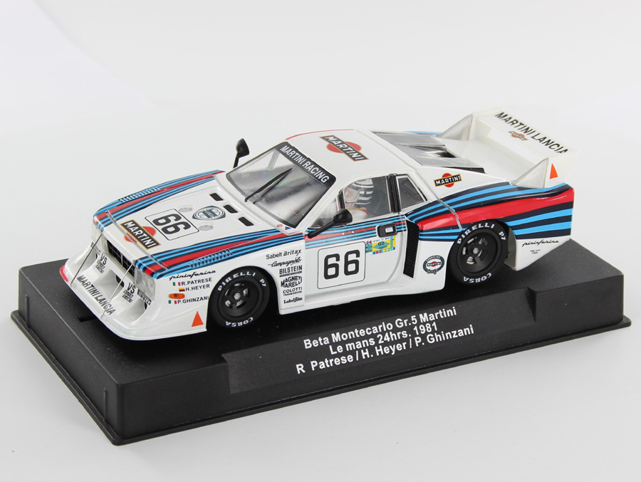 Sideways SW54 Lancia Beta Montecarlo Gr.5 Martini 24 heures du Mans 1981