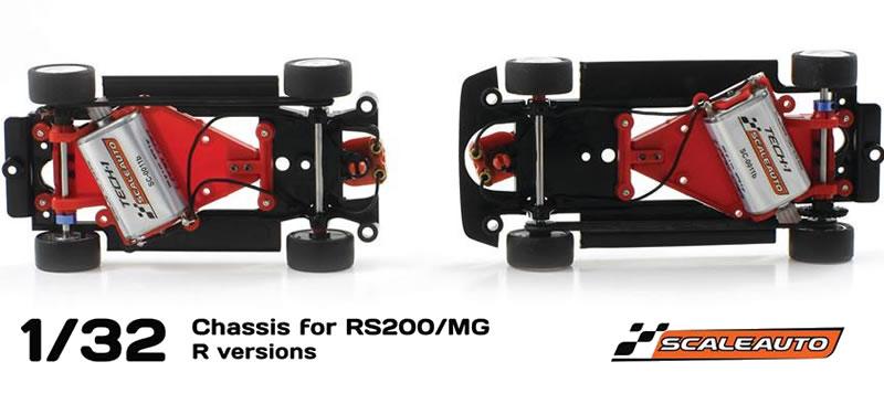 Scaleauto: Nouveaux châssis pour les MG Metro 6R4 et Ford Rs 200