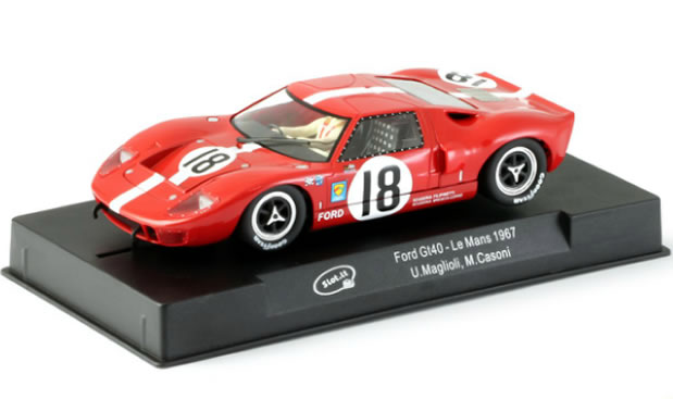 Slot.it: la Ford GT40 n.18 - 24h Le Mans 1967 CA18e