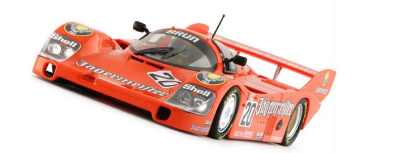 Slot it: la Porsche 956 KH #20 - Hockenheim 1000 Km 1985 (CA09h)