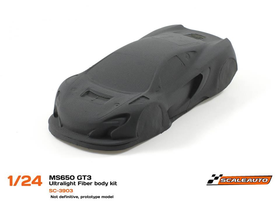 SC-3903 McLaren GT3 MS650 Body Kit Ultralight