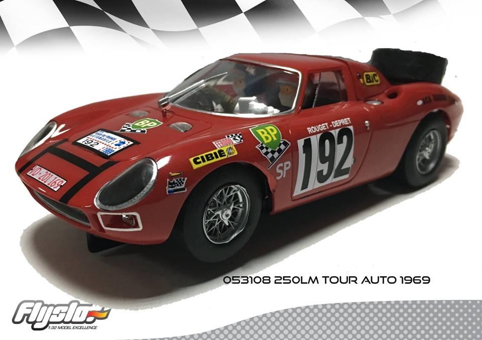 Ferrari 250 LM de la Scuderia Filipinetti inscrit au tour auto 1969
