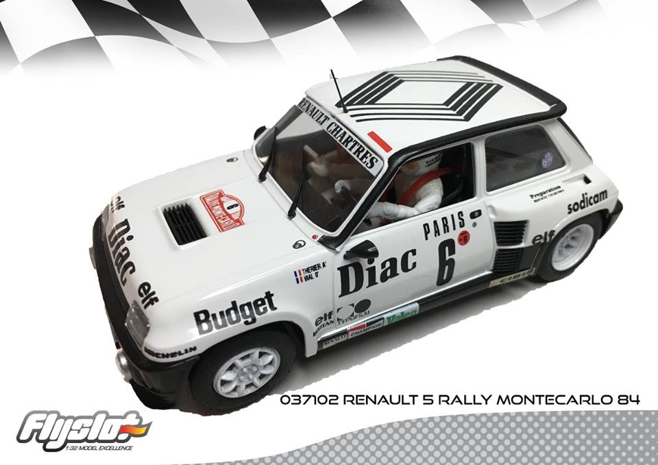 FlySlot: La Renault 5 Turbo Rallye Monte Carlo 1984