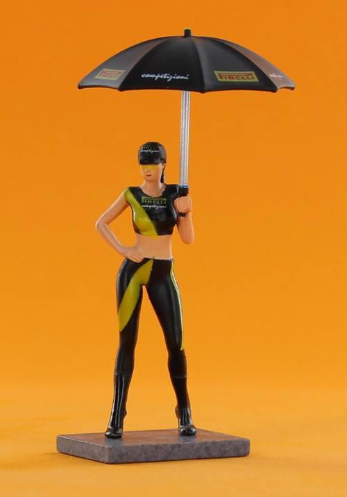 Naomi et son parapluie