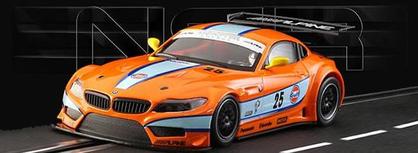 """NSR Slot: La BMW Z4 GT3 """"Gulf"""" #25"""