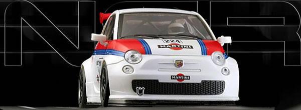 NSR Slot: la Fiat 500 Abarth Martini Racing #224