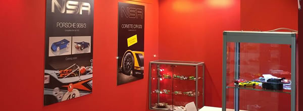 NSR Slot: les photos du stand NSR au salon de Nuremberg 2017
