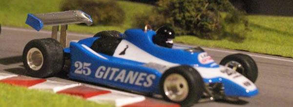 Nonno Slot: Les Ligier JS11 1979 de Icks (#26) et Laffite (#25)