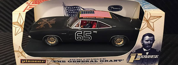 Pioneer Slot Car: la Dodge Charger 69 Général Grant Shady Black
