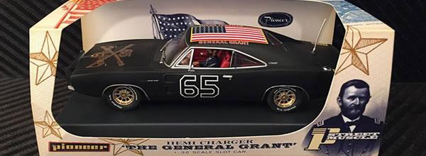 Pioneer Slot Car: la Doge Charger 69 Général Grant Shady Black