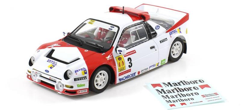 SC-6155 - SC-6155 R  - Ford Rs200 Zanini Rallye Des Asturies 1986
