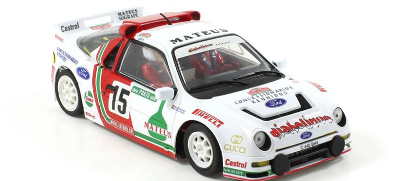 SC-6156 - SC-6156 R  - Ford Rs200 Rallye Portugal 1986