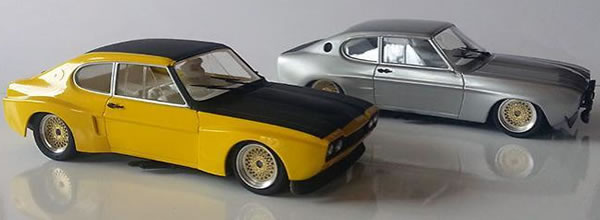 """SRC/OSC: Les premières Ford Capri RS et LV """"Chrono"""" arrivent"""