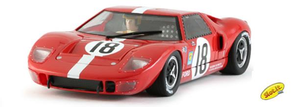 Slot.it: la Ford GT40 n.18 - 24h Le Mans 1967 CA18e