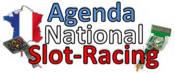Voir l'Agenda National des courses de Slot Racing en France