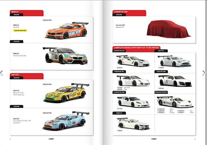 Le catalogue NSR Slot
