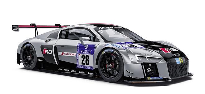 SC-6163 LMS GT3 Audi Team Sport WRT Nurburgring 2015