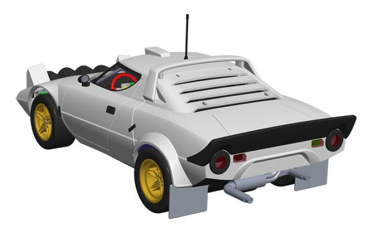 Scalextric: La Lancia Stratos HF annoncée pour octobre 2017