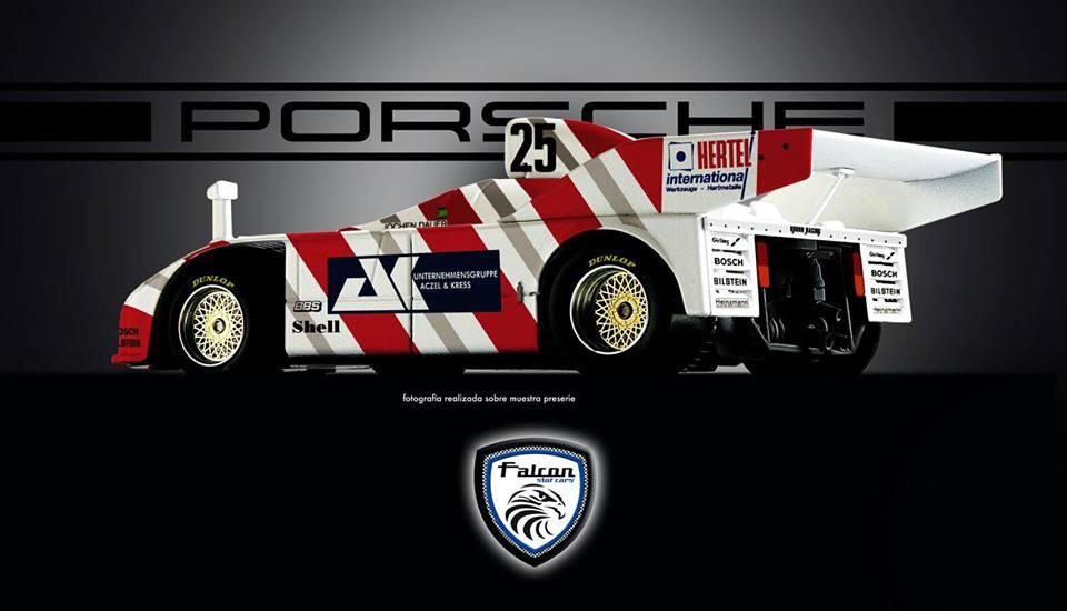 Porsche 908/3 Turbo Falcon Slot Cars
